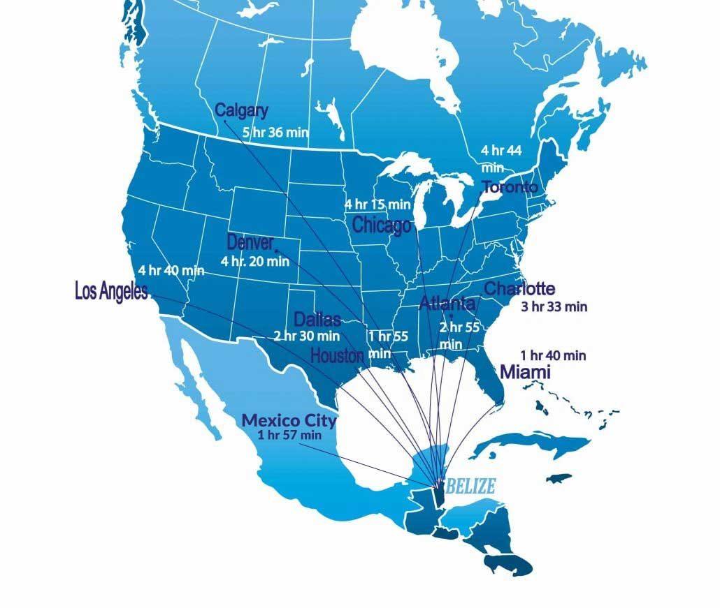 Flights To Cayo Espanto Luxury Belize Resorts